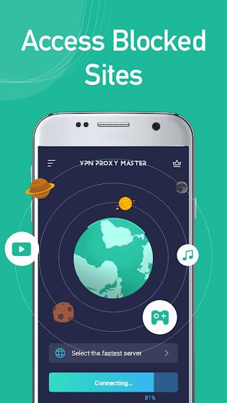 VPN Proxy Master Mod Apk Features