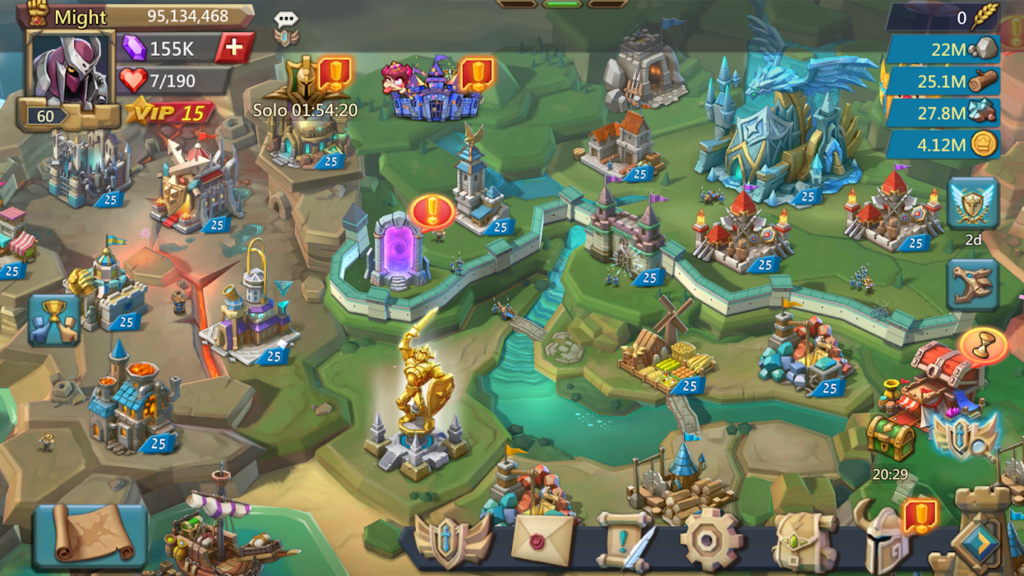 lords mobile mod apk unlimited gems download 2020 android 1