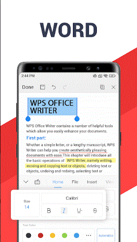 wps office premium cracked apk free download for android